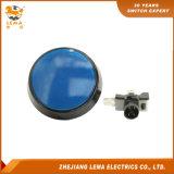 IP40保護レベル60.8mm青いLEDの押しボタンスイッチPbs-005