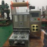 Nueva máquina semi automática del lacre de la bandeja de la taza de China del diseño