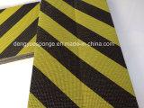 Черный желтый предохранитель пены пусковой площадки предохранения от автомобиля пленки с прилипателем