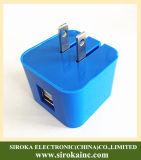 折るプラグユニバーサル二重USBの携帯電話の電気自動車の充電器