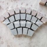 Pietra per lastricati dei lastricatori poco costosi del granito G682 per il passaggio pedonale, strada privata, giardino