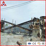 Basalto che schiaccia la linea di produzione per estrazione mineraria