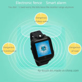3G badine la montre de traqueur de GPS avec le grand écran tactile (D18)