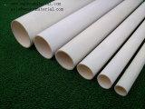 Tubo del PVC para el gas