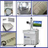 Máquina da marcação do laser para a gravura do logotipo