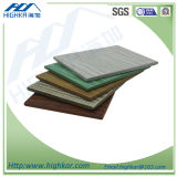 Неорганическая доска цемента волокна зерна панелей Siding внешней стены деревянная