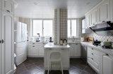 Gabinete de cozinha da madeira contínua e cozinha Furniture#271