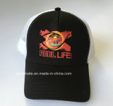 Бейсбольной Red Hat с трафаретной печатью на передней панели и сетка на задней панели (LY026)