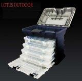 Caixa de pesca plástica Multifunction da caixa de pesca do ABS da caixa de pesca da caixa de pesca