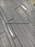 Super weißer Streifen-Glasmosaik-Fliese