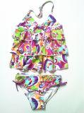 Симпатичная юбка заплыва, Swimwear детей, новые девушки сексуальное Бикини прибытия (XMF-G22)