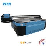 공장 산업 빠른 디지털 유리제 도기 타일 플라스틱 알루미늄 평상형 트레일러 UV 인쇄 기계