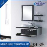 Cabina de cuarto de baño impermeable de la pared simple del acero inoxidable