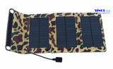 Cargador solar plegable portable de 5W 5V para el banco al aire libre de la energía del teléfono móvil