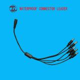 El divisor 1 entró 5 hizo salir los conectores automotores del alambre del OEM del cable eléctrico