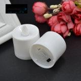 L'indicatore luminoso tremulo senza fiamma del tè del LED esamina in controluce a pile con telecomando
