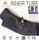 L'original butylique de moto de chambre à air de tube de moto de tube d'Origina partie 2.50-17