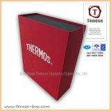 Caixa de presente Handmade colorida do papel de impressão Offset para o empacotamento do presente