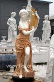 De marmeren Gravure van de Steen van het Beeldhouwwerk van het Standbeeld Marmeren (msdf-007)