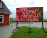 P10 en la piscina al aire libre moviendo la pantalla LED de la Publicidad Digital