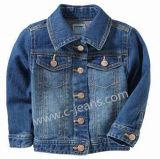 Boy Jeans Kacket informal del 98% de algodón y el 2% Chaqueta elástica