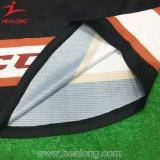 Хоккей сублимированный сбыванием печатание Healong горячим Джерси и носки хоккея