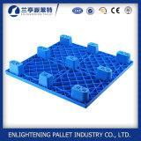 Gerecycleerde HDPE Gemaakte Goedkope Nestable het Gebruik van de Uitvoer van de Tijd 9 Agenten Plastic Pallet