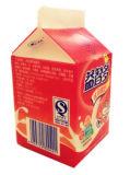 dreieckiger Karton des Joghurt-180ml mit Loch