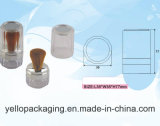 Kosmetische verpackende kosmetischer Behälter-Plastikflasche pulverisieren lose Kasten