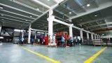 A fábrica forneceu o Shelving lateral dobro do supermercado da cremalheira da gôndola de 4 Layes