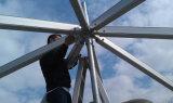 шатер случаев диаметра 10m алюминиевый шестиугольный напольный