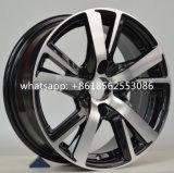 Réplica de liga de carro de alumínio para rodas de rodas Peugeot
