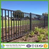 загородка ковки чугуна 2.1X2.4m австралийская стандартная для зоны Commercial&Residential