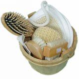 Juego de baño de SPA de regalo de promoción de viaje divertido con barril (JMHF-114)