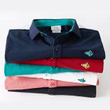 Liste sponsorisée Contacter le fournisseur 2016 Nouveau style Polo à manches courtes à manches courtes 100% coton