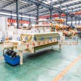Filtre-presse contrôlé de membrane de 2017 programmes pour des eaux d'égout de bétail 870 séries