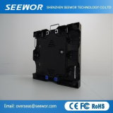 A alta resolução P4 Monitor LED de cor total com 500*500 Cabinet
