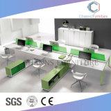 Poste de travail moderne de bureau de bureau de groupe de meubles
