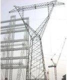 INMERSIÓN caliente de la potencia galvanizada de la línea de transmisión torre