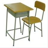 Mesa da escola da gaveta e cadeira Mobília-Dobro Lb-D/C-005