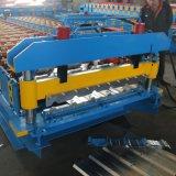 機械を形作る鋼鉄美しいプロフィールシートロールを着色しなさい