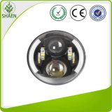 70W 7 polegadas - luz do carro do diodo emissor de luz do poder superior para C.C. 12V-30V do jipe