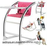 Bébé chaise de salle à manger Kids Table à manger avec le siège réglable en hauteur