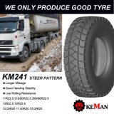 Reifen des Förderwagen-Km310, alle Räder, alle Stellung
