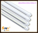 LED T8 de 1200mm de 4 pies de la luz del tubo LED 18W