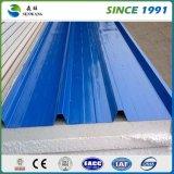 좋은 품질 새로운 디자인 건축재료 색깔 강철판 루핑 장
