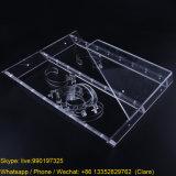 3 couches effacent le présentoir acrylique de montre