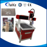 Машина маршрутизатора CNC Woodworking CNC цилиндра Ck6090 миниая