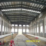 Atelier préfabriqué d'acier structuré à grande portée en Zambie