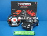 선물 차 플라스틱 RC 차 장난감, 4개의 CH 원격 제어 차 (005451)